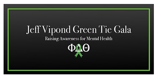 Jeff Vipond Green Tie Gala: Raising Awareness for Mental Health
