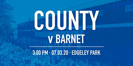 #StockportCounty vs Barnet tickets