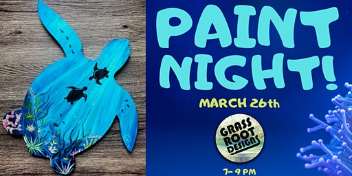 Sea Turtle | Paint Night!