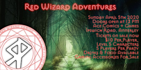 Red Wizard Adventures @ Ace Comics & Games tickets