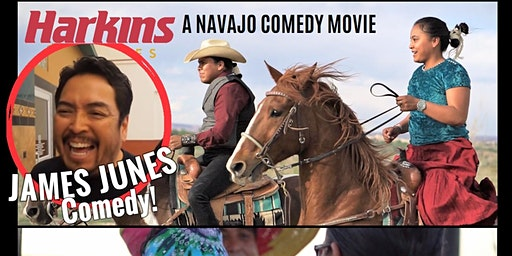 JAMES JUNES Comedy & PAROLE Movie - TEMPE, AZ @ 6:45 pm