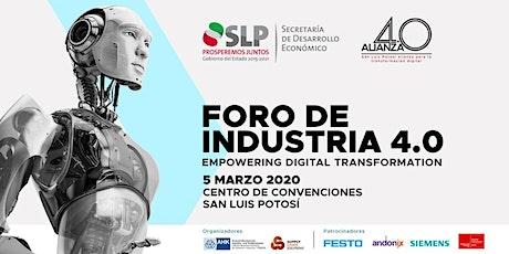 Foro Industria 4.0 Empowering Digital Transformation entradas