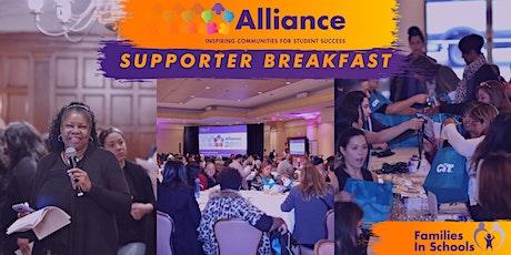 Alliance Summit Supporter Breakfast tickets