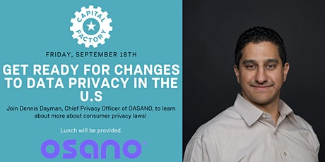 Lunch & Learn: Get Ready for Changes to Data Privacy in the U.S. tickets