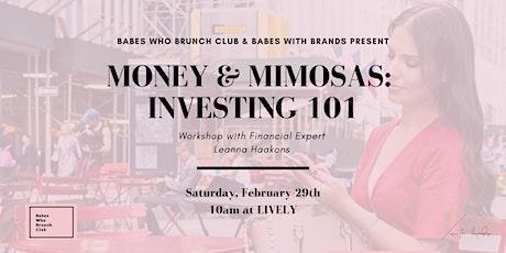 Money & Mimosas: Investing 101 tickets