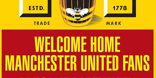 Manchester United Welcome Home Party at Rathskeller Bier Haus
