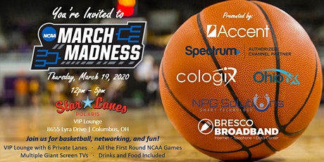 Accent's March Madness Party @ Star Lanes Polaris tickets