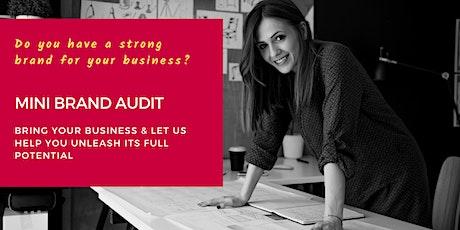 Mini Brand Audit: Unleash the potential of your business entradas