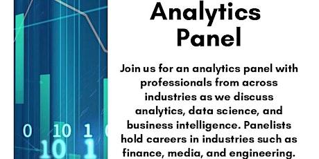 Analytics Panel Event tickets