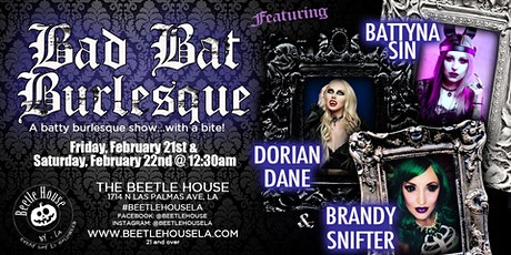 Bad Bat Burlesque Show (Friday Night Show) tickets