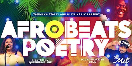 Afrobeats & Poetry! tickets