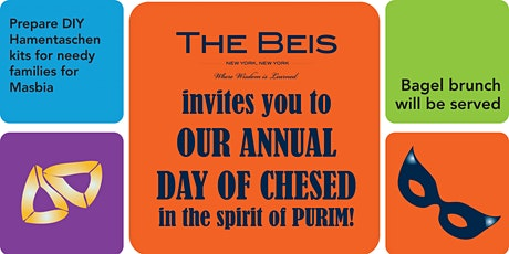 Pre-Purim Day of Chessed tickets