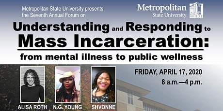 Understanding and Responding to Mass Incarceration 2021 tickets