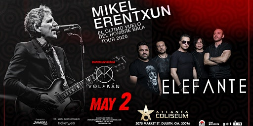 Mikel Erentxun & Elefante • Atlanta