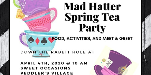 Mad Hatter Spring Tea Party
