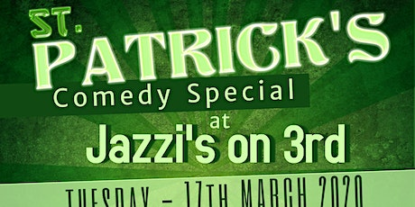 St Patrick's Day Comedy Special tickets