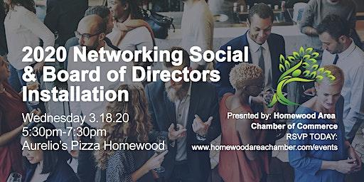 2020 Networking Social & Board Installation