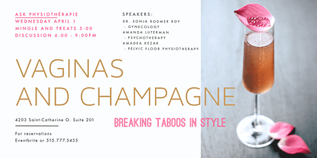 Vaginas and Champagne! tickets