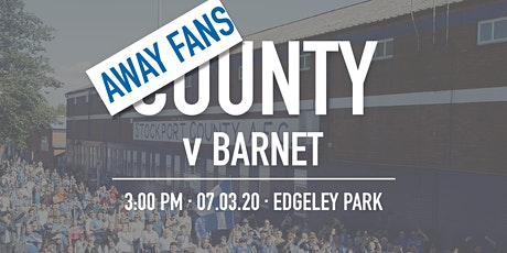 Away Fans - #StockportCounty vs Barnet tickets