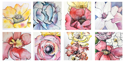 Watercolor Botanical Illustration with Courtney Khail