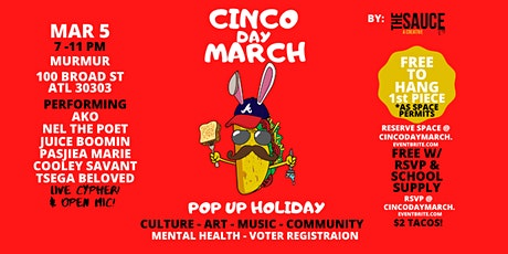 Cinco Day March tickets