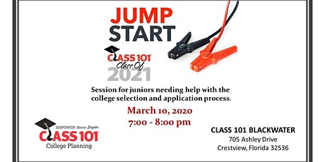 Jumpstart Info Session for Juniors (Class of 2021) tickets