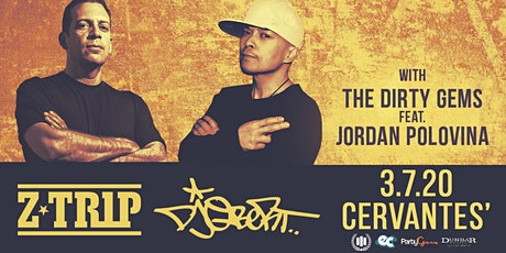 Z-Trip and DJ Qbert w/ The Dirty Gems ft. Jordan Polovina tickets