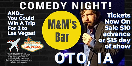 M & M's Bar & Grill presents the return of Comedy Night w/JerDog