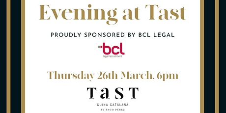 Evening at Tast tickets