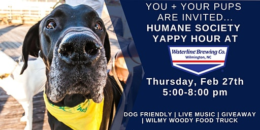 Yappy Hour at Waterline Brewing