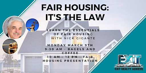 Fair Housing: It's The Law