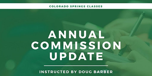 Colorado Springs - Annual Commission Update