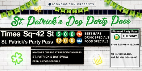 Times Square St Patrick's Party Pass Day 2 tickets