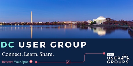 DC Alteryx User Group Q1 2020 Meeting tickets
