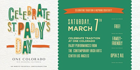 One Community: An Irish Session with the Contemporary Irish Arts Center LA tickets