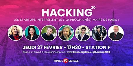 Soirée Hacking politique 2020 - France Digitale à Paris ! tickets
