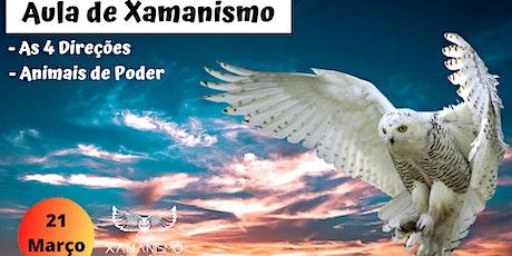 Aula de Xamanismo - As 4 direções e Animais de Poder ingressos
