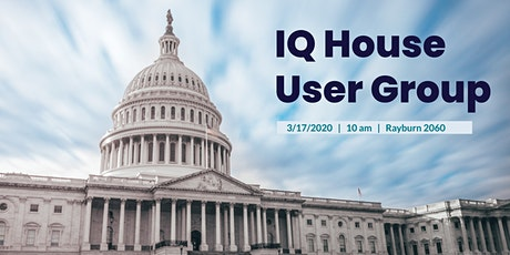 IQ House User Group tickets