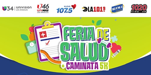 UNIVISION Health Fair + 5K Walk   & Frente a Frente con la 1020