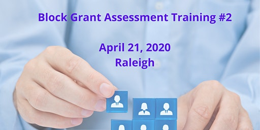 Statewide Assessment Workshop #2 - Raleigh