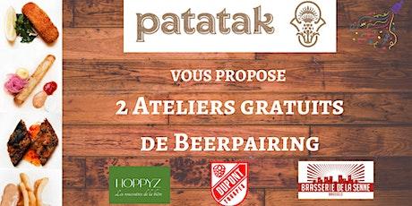 Ateliers de beerpairing des 1 an de Patatak tickets