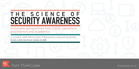 The Science of Security Awareness tickets