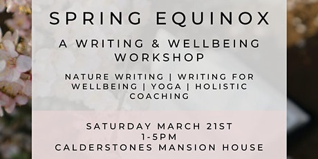 SPRING EQUINOX WRITING & WELLBEING (YOGA) DAY RETREAT tickets