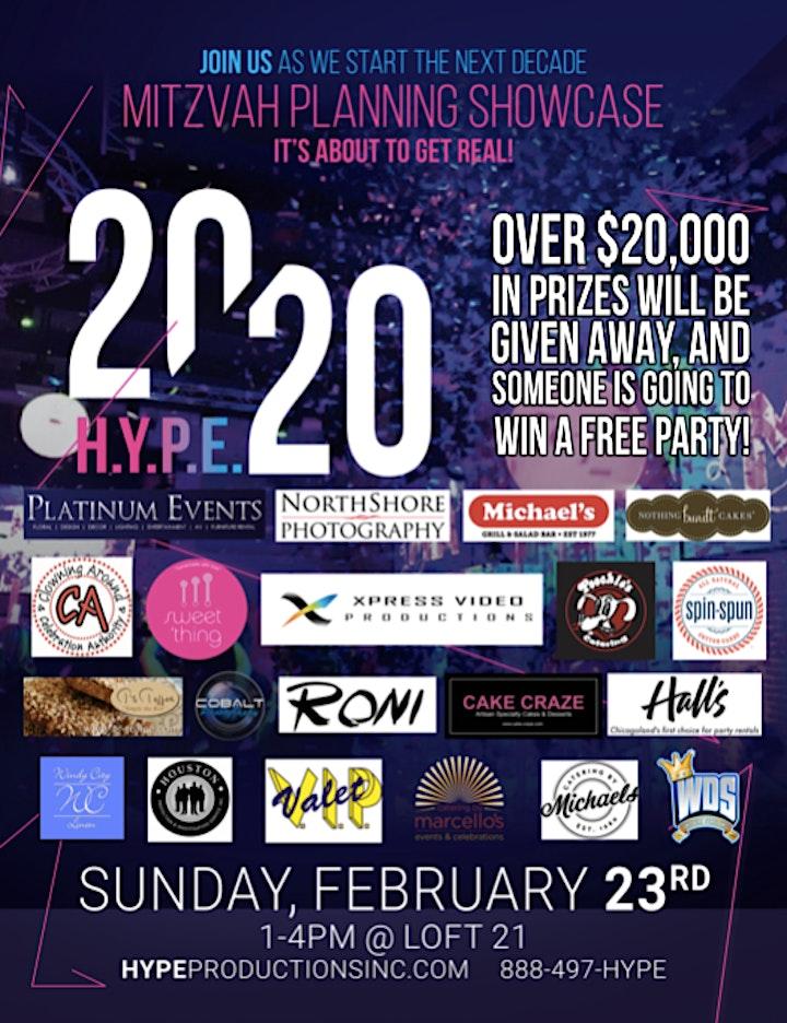 H.Y.P.E. 2020 Mitzvah Showcase image