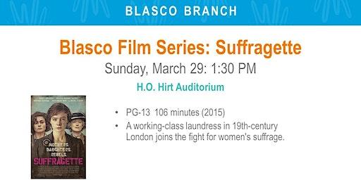 Blasco Film Series: Suffragette