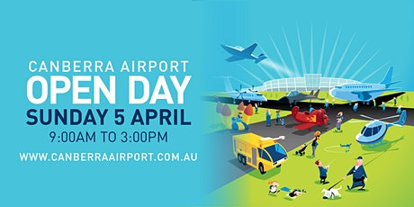 Canberra Airport Open Day 2020 tickets