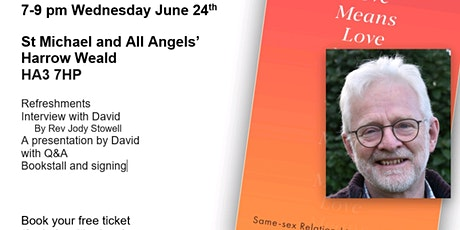 David Runcorn: Love means Love: Book Launch tickets