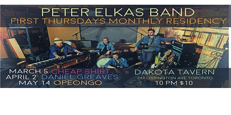 Peter Elkas Monthly Residency  with DANIEL GREAVES (the Watchmen)