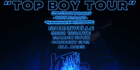 OG Jonah's Top Boy Tour: Mornville tickets