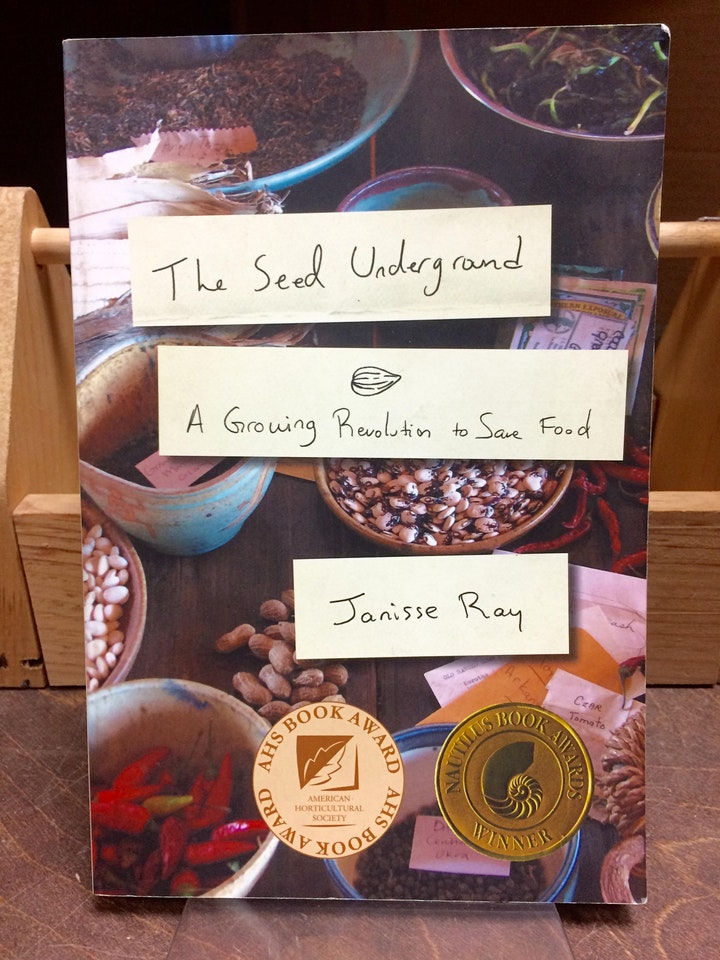 Food & Land Book Club discusses The Seed Underground: A Growing Revolution image